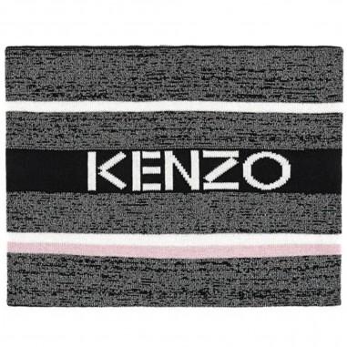 Kenzo Sciarpa nera per bambini by Kenzo Kids kp90018-02kenzo29