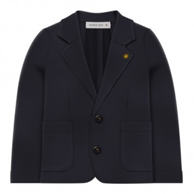 Manuel Ritz Boys blue blazer - Manuel Ritz Kids mr0910-blumanuelritz29
