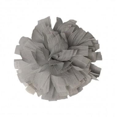 Caffè d'Orzo GIrls grey chiffon flower brooch by Caffè d'orzo olivia-grigiocaffe29