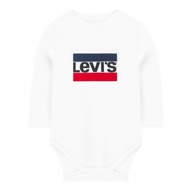 Levi's Body bianco neonati con logo batwing by Levi's Kids np60004-001levis29