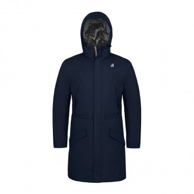 K-Way Boys blue waterproof jacket remi ripstop marmotta by K-Way Kids k007f70-901kway29