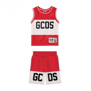 GCDS mini Mesh Baby Outfit - GCDS mini 023940-gcdsmini20