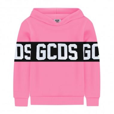 GCDS mini Boys Fluo Fuchsia Hoodie - GCDS mini 022507fl-134-gcdsmini20
