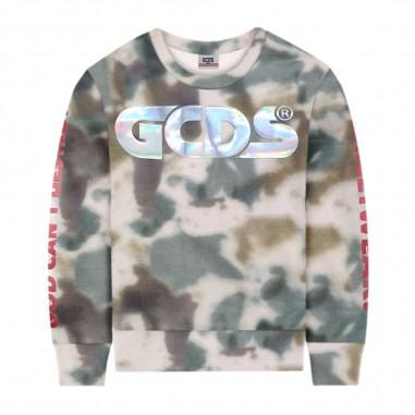 GCDS mini Boys Tie Dye Sweatshirt - GCDS mini 022593-gcdsmini20