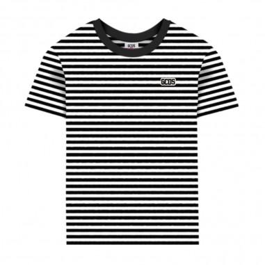 GCDS mini Boys Striped T-Shirt - GCDS mini 022481-110-gcdsmini20