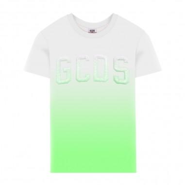 GCDS mini Boys Green Gradient T-Shirt - GCDS mini 022566-gcdsmini20