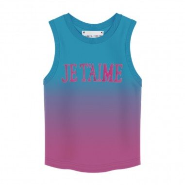 Alberta Ferretti Junior Girls Jersey Top Tank - Alberta Ferretti Junior 022193-05103-ferretti20