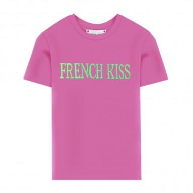 Alberta Ferretti Junior Girls Fucsia T-Shirt - Alberta Ferretti Junior 022146-044-albertaferrettijunior20
