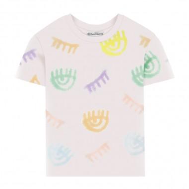 Chiara Ferragni Kids T-Shirt Logomania Bambina - Chiara Ferragni Kids cfkt016-chiaraferragnikids20