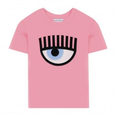 Chiara Ferragni Kids T-Shirt Rosa Bambina - Chiara Ferragni Kids cfkt008-chiaraferragnikids20