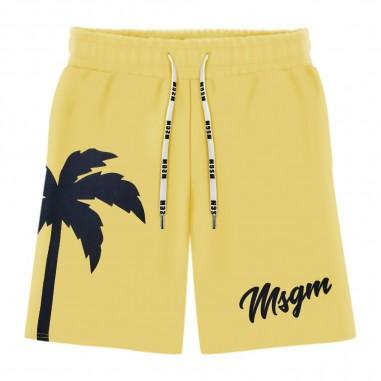 MSGM Yellow Bermuda - MSGM 022471-msgm20