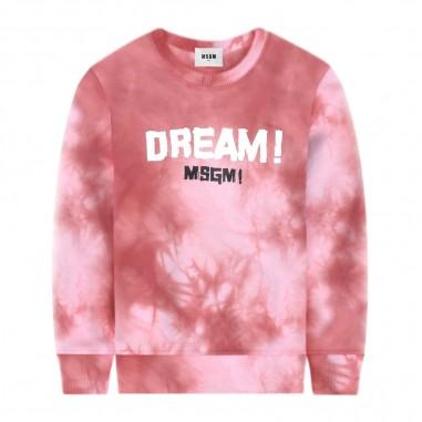 MSGM Girls Tie Dye Sweatshirt - MSGM 022120-msgm20
