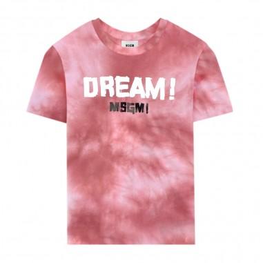 MSGM T-Shirt Dream Tie Dye Bambina - MSGM 022103-msgm20