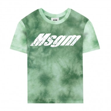 MSGM T-Shirt Tie Dye Bambino - MSGM 022402-080-msgm20
