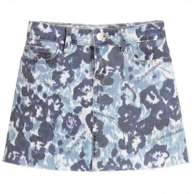 Calvin Klein Jeans Kids Girls Floral Skirt - Calvin Klein Jeans Kids ig0ig00376-calvinkleinjeanskids20