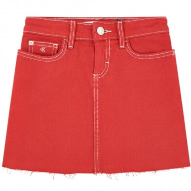 Calvin Klein Jeans Kids Gonna Rossa Bambina - Calvin Klein Jeans Kids ig0ig00375-calvinkleinjeanskids20