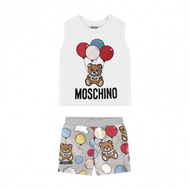 Moschino Kids Completo Palloncini Neonati - Moschino Kids mug001lbb28-moschinokids20
