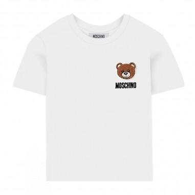 Moschino Kids Maxi T-Shirt Neonato - Moschino Kids mmm01nlba10-moschinokids20