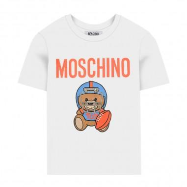 Moschino Kids Baseball T-Shirt - Moschino Kids hum02qlba10-10101-moschinokids20