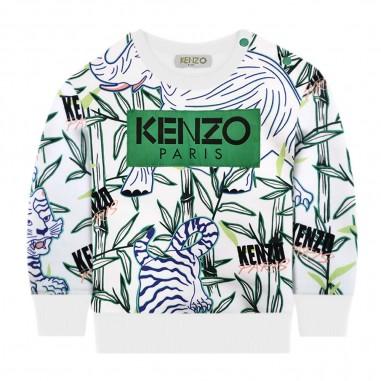 Kenzo Felpa Neonato Jungle Jake - Kenzo kq15598-bb-kenzo20