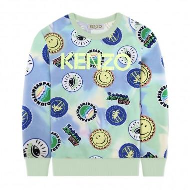 Kenzo Boys Tie Dye Sweatshirt - Kenzo kq15528-kenzo20