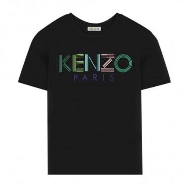Kenzo T-Shirt Logo Bambino - Kenzo kq10638-kenzo20