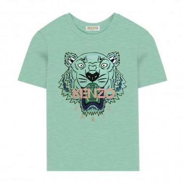 Kenzo Boys Neo-Mint T-Shirt - Kenzo kq10658-kenzo20
