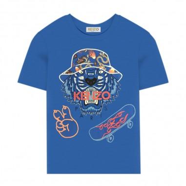 Kenzo T-Shirt Tiger Bambino - Kenzo kq10668-kenzo20