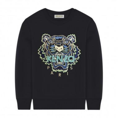 Kenzo Boys Navy Tiger Sweatshirt - Kenzo kq15678-kenzo20