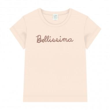 Caffè d'Orzo T-Shirt Scritta Bambina - Caffè d'Orzo perla-caffedorzo20