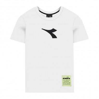 Diadora Boys White T-Shirt - Diadora 022315-diadora20