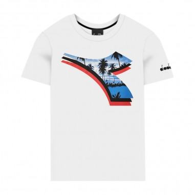 Diadora Boys Jersey T-Shirt - Diadora 022328-diadora20