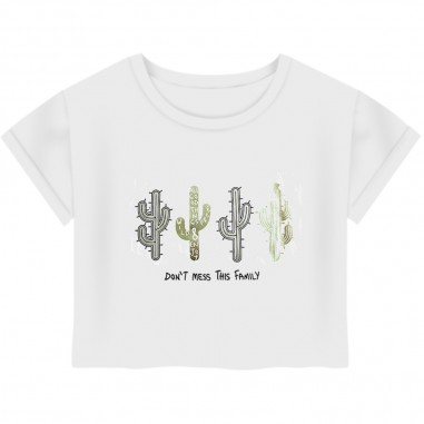 Dixie Kids Girls Cactus T-Shirt - Dixie Kids mb13030g23-dixiekids20