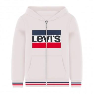 Levi's Felpa Zip Logo Bambino - Levi's lk8ea1498ea149-levis20