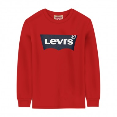 Levi's T-Shirt Rossa Neonato Basica - Levi's lk6e86466e8646-red-levis20