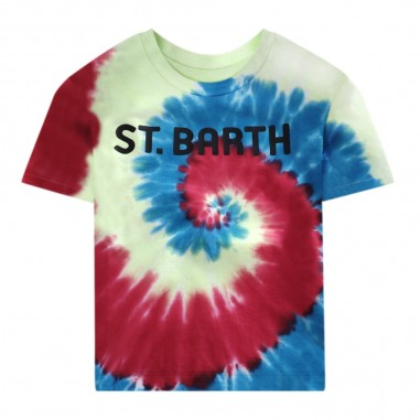 Mc2 Saint Barth T-Shirt Tie Dye Bambino - Mc2 Saint Barth tsh0001-sbtdyf-mc2saintbarth20