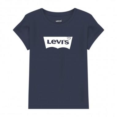 Levi's Girls Iconic T-Shirt - Levi's lk3e42343e4234-peacoat-levis20