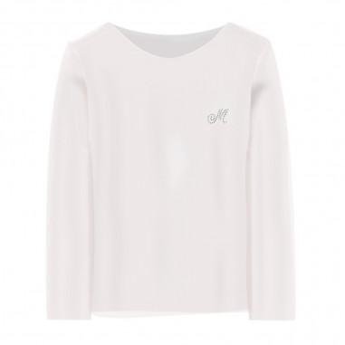 Monnalisa T-Shirt Panna Bambina - Monnalisa 715611a1-0001-monnalisa20