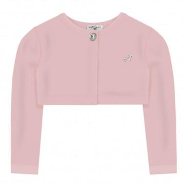 Monnalisa Pink Baby Girls Cardigan - Monnalisa 375car-0090-monnalisa20