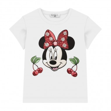 Monnalisa T-Shirt Ciliege Bambina - Monnalisa 195643pl-monnalisa20