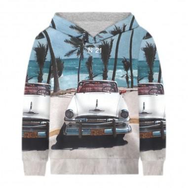 N.21 Kids Miami Sweatshirt - N.21 Kids n2149f-n21kids20