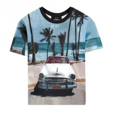 N.21 Kids T-Shirt Miami Unisex - N.21 Kids n21496-n21kids20