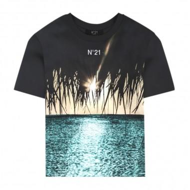 N.21 Kids T-Shirt Orizzonte Bambino - N.21 Kids n2149a-n21kids20