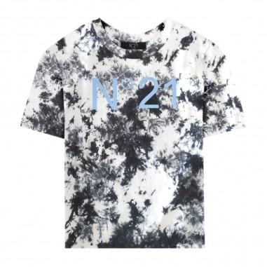 N.21 Kids T-Shirt Tie Dye Bambino - N.21 Kids n2149b-n21kids20
