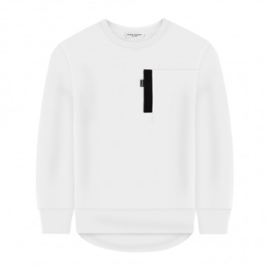 Paolo Pecora Boys White Sweatshirt - Paolo Pecora pp2269-paolopecora20