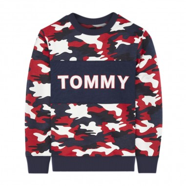 Tommy Hilfiger Kids Boys Camouflage Sweatshirt - Tommy Hilfiger Kids kb0kb05480-tommyhilfigerkids20