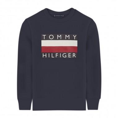 Tommy Hilfiger Kids T-shirt Basica Bambino - Tommy Hilfiger Kids kb0kb05426-blu-tommy20