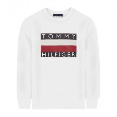 Tommy Hilfiger Kids T-shirt Logo Bambino - Tommy Hilfiger Kids kb0kb05426-white-tommy20