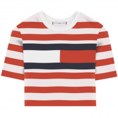 Tommy Hilfiger Kids T-Shirt Righe Bambina - Tommy Hilfiger Kids kg0kg04962-tommyhilfigerkids20