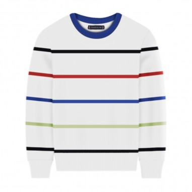 Tommy Hilfiger Kids Maglioncino Righe Bambino - Tommy Hilfiger Kids kb0kb05617-tommyhilfigerkids20